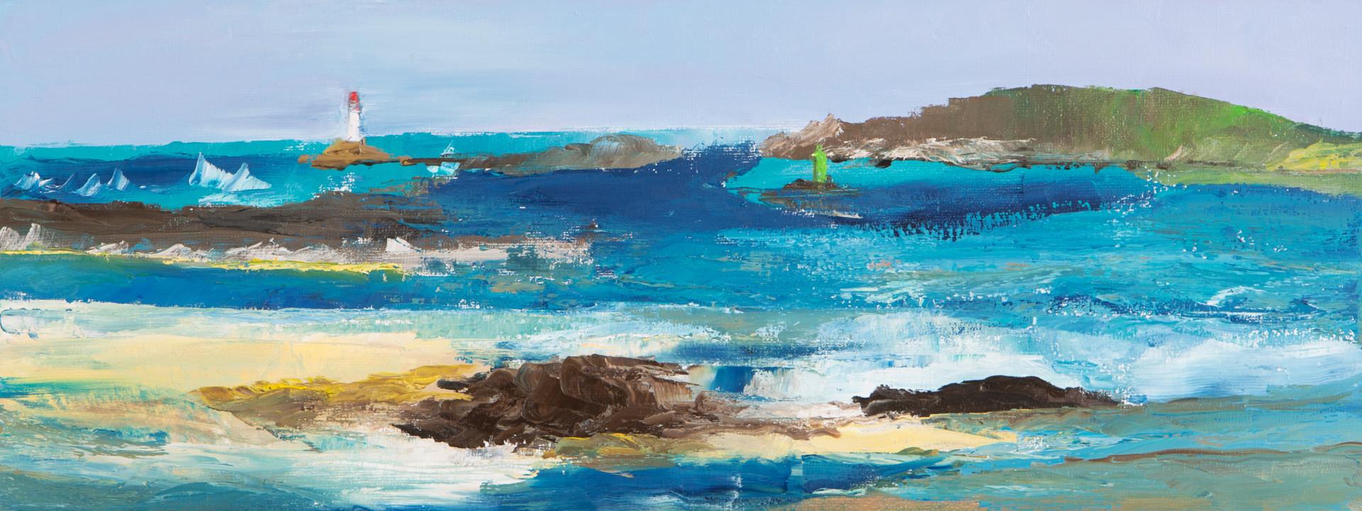 Francoise Lavenu - Saint Malo à marée basse